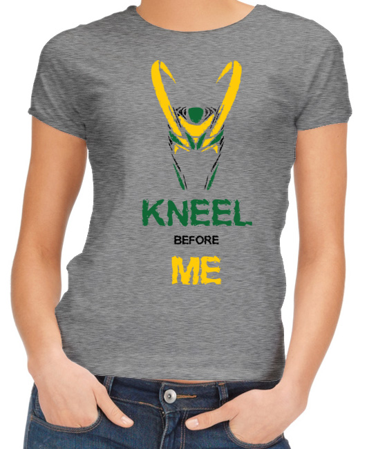 Kneel before me - Loki